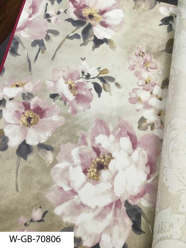 مدل جدید کاغذ دیواری اتاق خواب نوجوان دخترانه شیک و زیبا