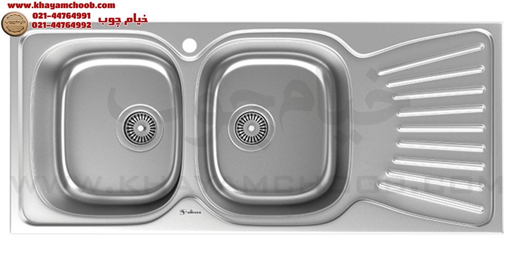 سینک ظرفشویی داتیس مدل DB-125