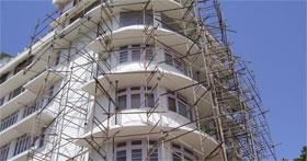 نمونه کارهای بازسازی ساختمان